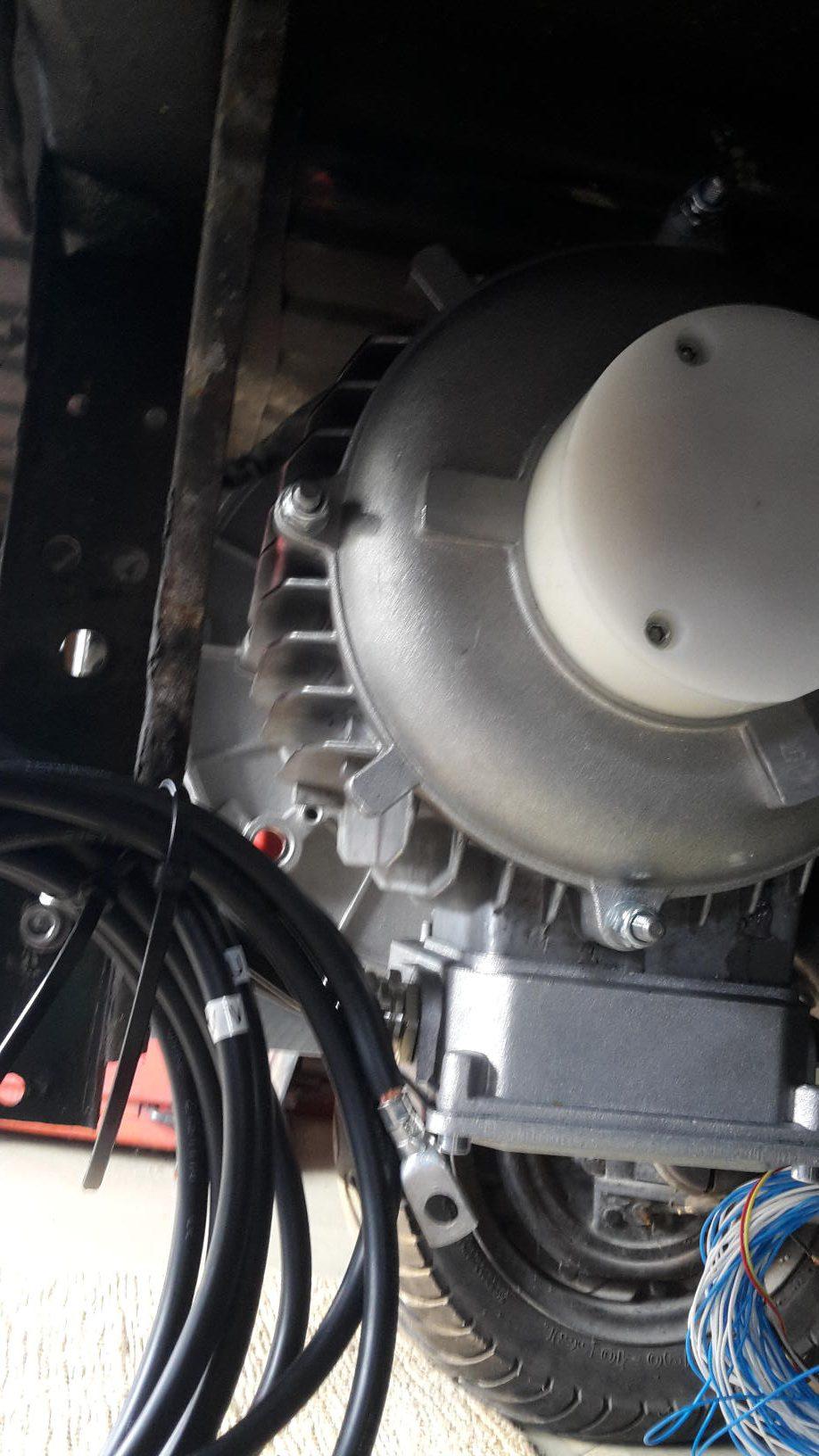 Montierter Motor