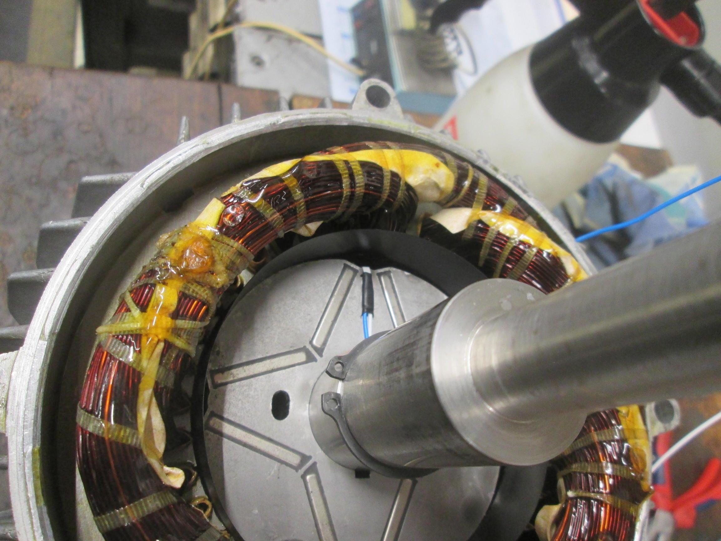 Rotor mit Stator